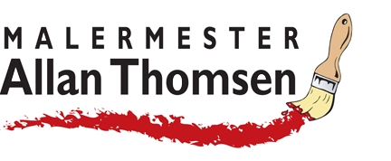 Logo for Malermester Allan Thomsen