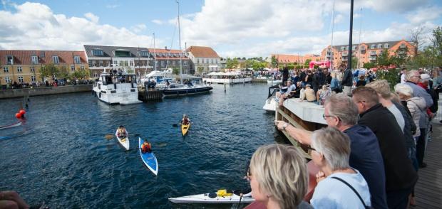 Gammel havn til Fredericia City Triathlon 2016