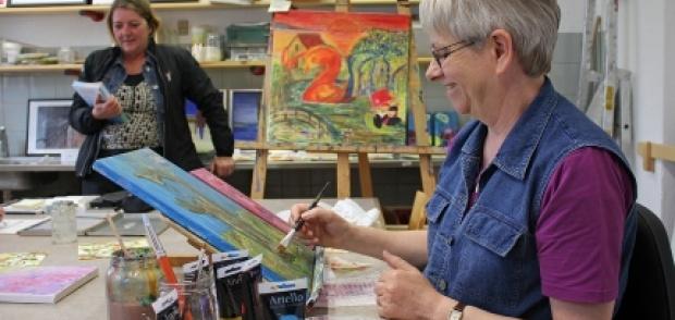 Malerværkstedet i Depotgården