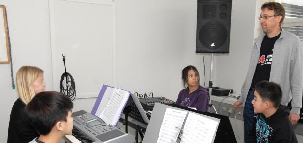 Musikundervisning af børn
