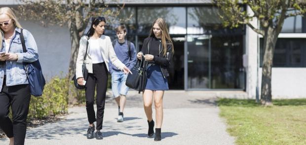 Elever på IBC I Fredericia