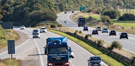 E20 Motorvejen ved Fredericia