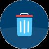 Symbol til teksten Affald, kloak og miljø